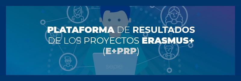 Infografía Plataforma de Resultados de los Proyectos Erasmus+