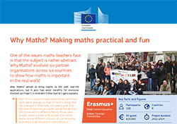 Why Maths? Making maths practical and fun